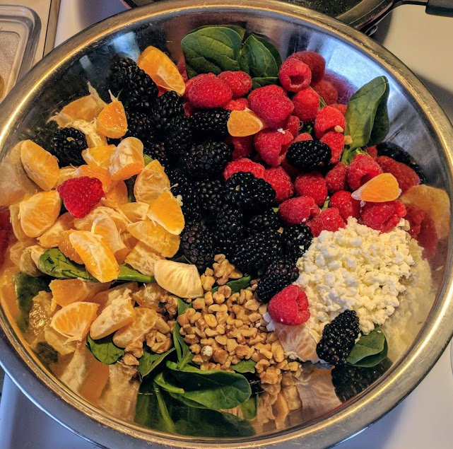 Berry Good Spinach Salad