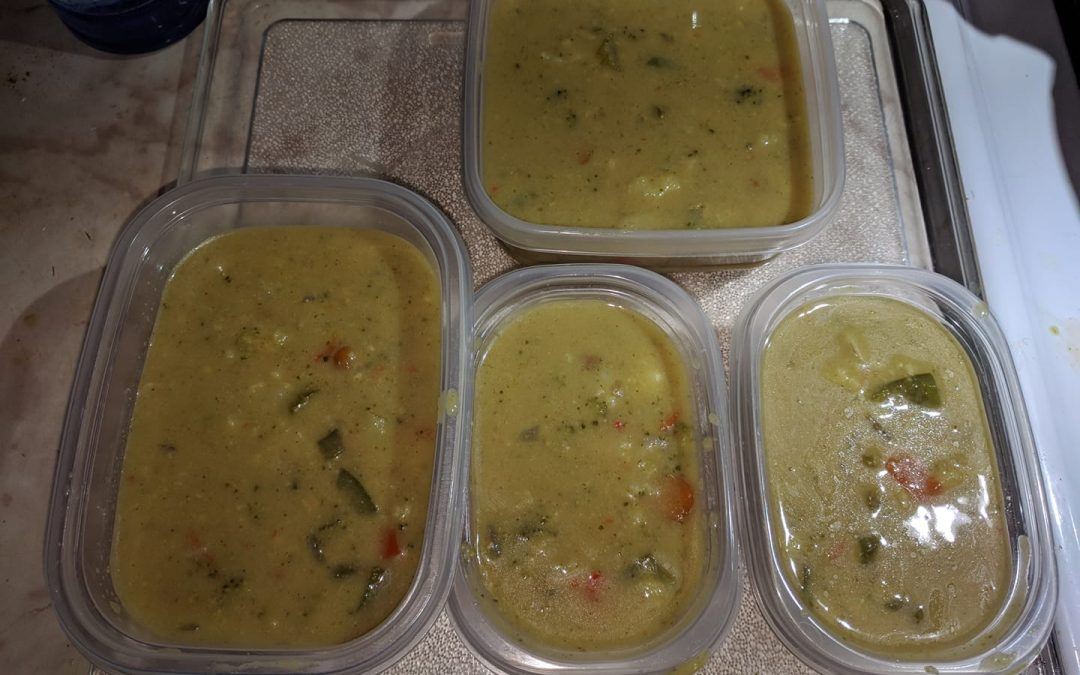 Creamy Vegetable Curry Soup